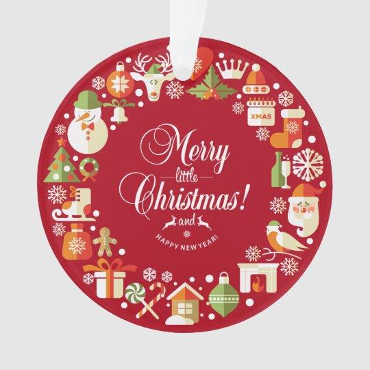 Lovely Merry Little Christmas | Ornament