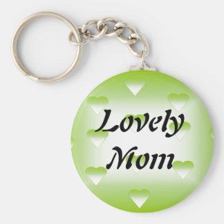 Lovely Mom Keychain