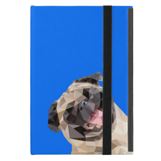 Lovely mops dog cover for iPad mini