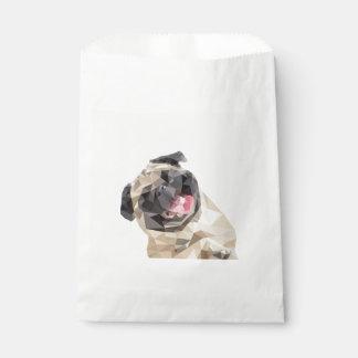 Lovely mops dog favour bag