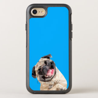Lovely mops dog OtterBox symmetry iPhone 8/7 case