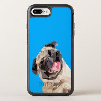 Lovely mops dog OtterBox symmetry iPhone 8 plus/7 plus case