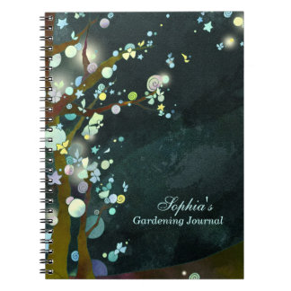 Lovely Night Kitchen or Gardening Journal Note Note Book