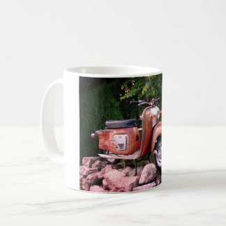 Lovely Old Scooter White 325 ml  Classic White Mug