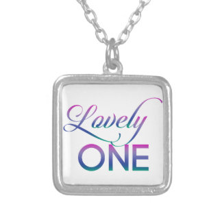 Lovely One Silver Plated Necklace