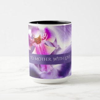 Lovely Orchid Mother's Day Custom Combo Mug
