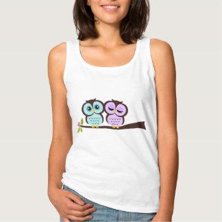Lovely Owls Singlet
