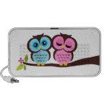 Lovely Owls Travelling Speaker