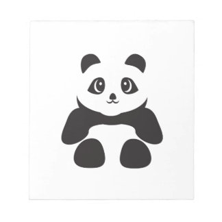 Lovely Panda bear Notepad