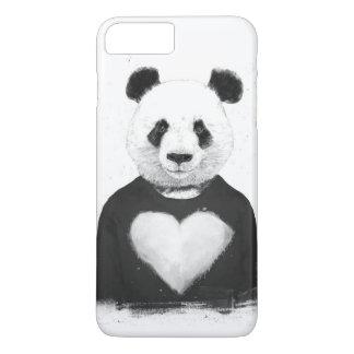 Lovely panda iPhone 7 plus case