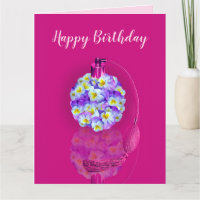 Lovely Pansy Atomizer Birthday Party