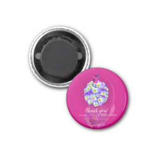 Lovely Pansy Atomizer  Birthday Party Magnet