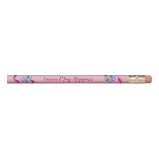 Lovely Pansy Atomizer Pencil