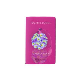 Lovely Pansy Atomizer Pocket Moleskine Notebook
