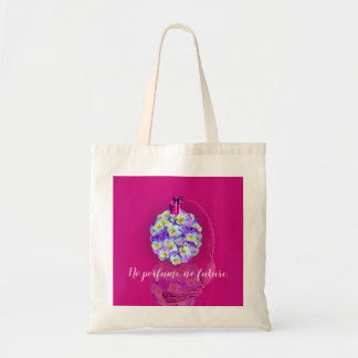 Lovely Pansy Atomizer Tote Bag