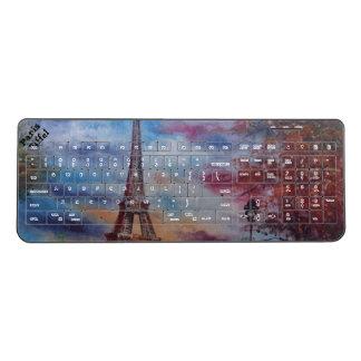 Lovely Paris Eiffel Keyboard