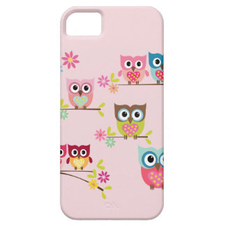 Lovely Pastel Owls - iPhone 5/5S Case