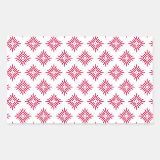 lovely pattern.png rectangular sticker