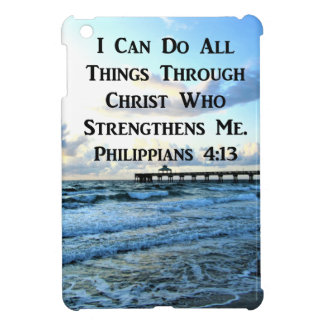 LOVELY PHILIPPIANS 4:13 BIBLE VERSE iPad MINI CASES
