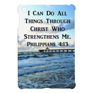 LOVELY PHILIPPIANS 4:13 BIBLE VERSE iPad MINI COVER
