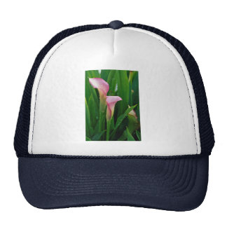 Lovely Pink calla lily Trucker Hats