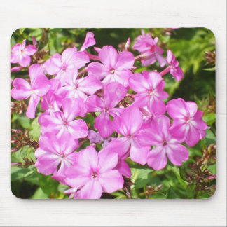 Lovely Pink Flowers Mouse Pad