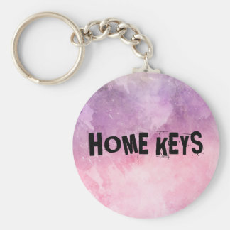 Lovely pink key chain for your home keys