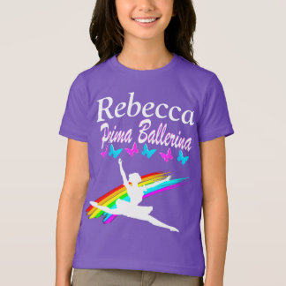 LOVELY PRIMA BALLERINA PERSONALIZED T SHIRT