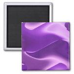 lovely purple fridge magnets