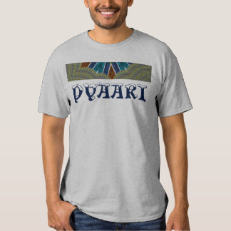 Lovely Pyaar Colorful damask pattern vector TShirt