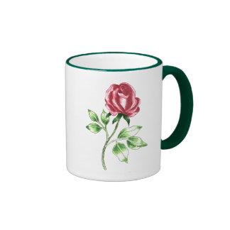 Lovely Red Rose Mug