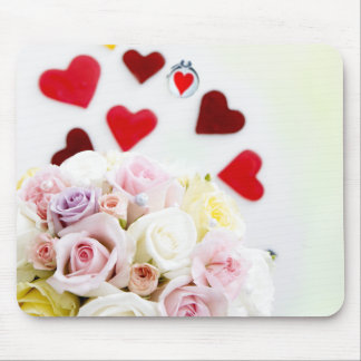 Lovely Rose mouse pad