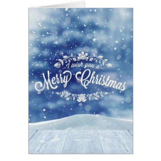 Lovely rustic Christmas card