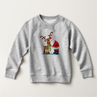 Lovely Santa Claus and Reindeer | Sweatshirt