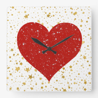 Lovely Square Wall Clock