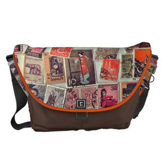 Lovely Stamps Commuter Bag