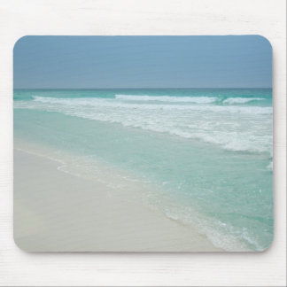 Lovely Summer Day at the Beach Mouse Pad