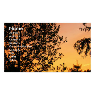Lovely Sunset Business Card Templates