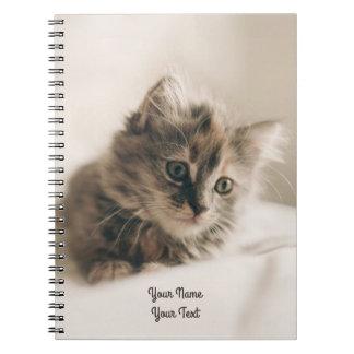 Lovely Sweet Cat Kitten Kitty Spiral Note Books