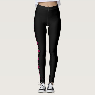 """Lovely Tragedy"" Rose Leggings"