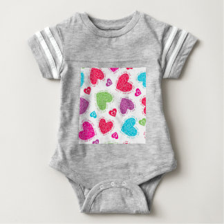 """Lovely Valentine's Day hearts and the """"I love you"""" Baby Bodysuit"""