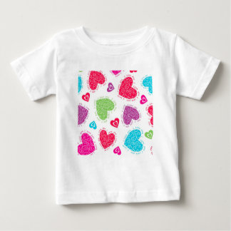 """Lovely Valentine's Day hearts and the """"I love you"""" Baby T-Shirt"""