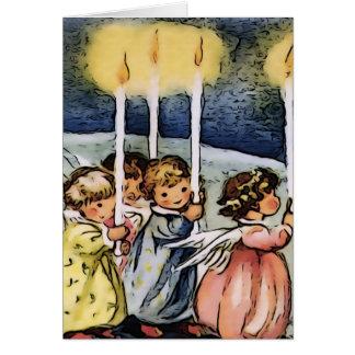 Lovely vintage Angels Card