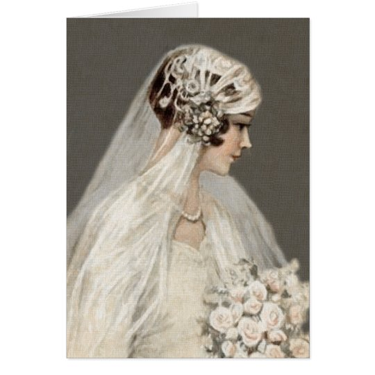 Lovely Vintage Bride, Grey Card