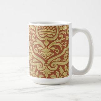 Lovely Vintage Damask (2) Coffee Mug