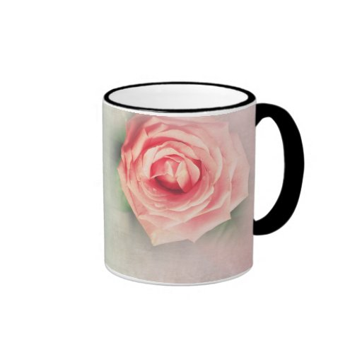 Lovely vintage rose personalised gifts mugs
