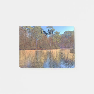 Lovely Virginia Lake in Autumn Post-it Notes