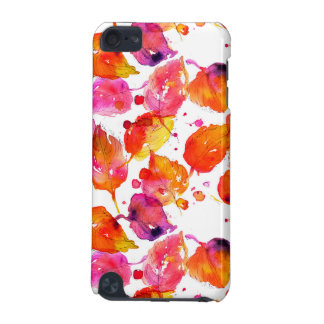 Lovely watercolor autumn leaves  pattern iPod touch 5G case