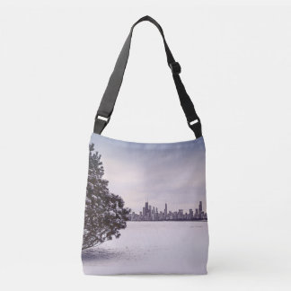lovely winter Chicago - cross-body bag