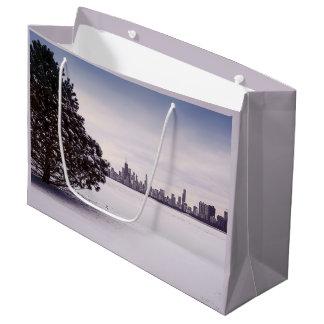 lovely winter Chicago - gift bag